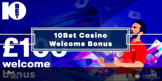 10Bet Casino Bonus: 50% Up To £100 + 25 Free Spins