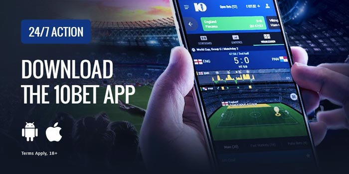 10bet mobile betting app