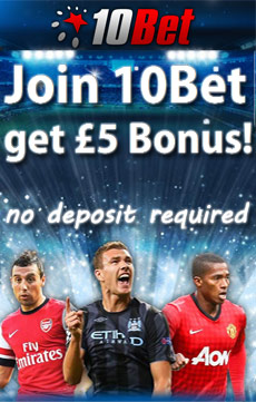 5 pound no deposit free bet