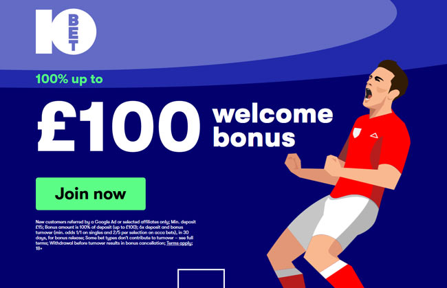 10Bet Betting Bonus