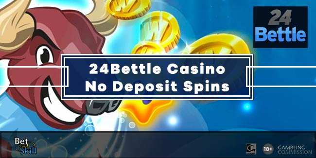 24Bettle Casino 24 No Deposit Free Spins + 240€ Bonus
