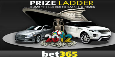 Cars, cash and a cruise in the bet365 Casino Prize Ladder promotion