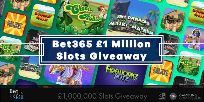 Bet365 £1 Million Slots Giveaway - Play Your Favorite Games, Win Cash Prizes