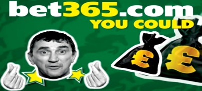 100% European Football accumulator bonus at Bet365