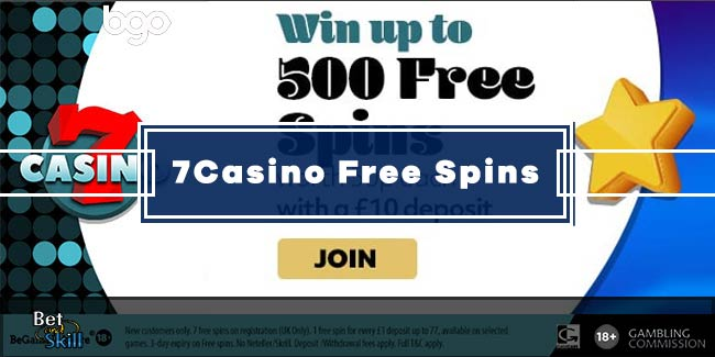 7Casino Bonus: Win Up To 500 Free Spins on Twin Spin Slot