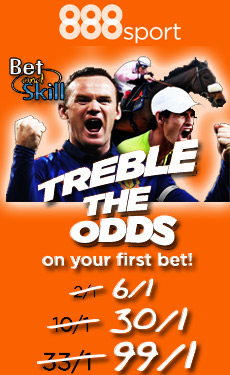 888sport treble odds