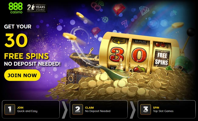 888casino no deposit free spins