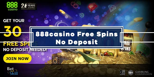 888casino No Deposit Free Spins: Claim 30 Free Now!