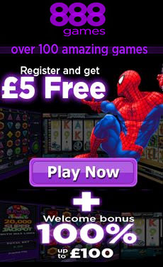 888games £5 free - no deposit required