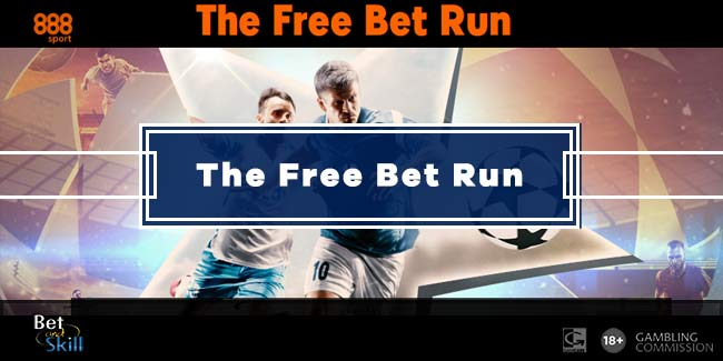 888sport Free Bet Run - Get A Streak Of £5 Free Bets on the Champions League