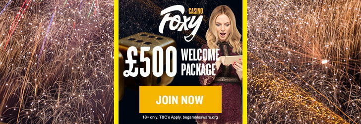 foxy casino welcome bonus