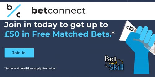 BetConnect Free Bet: Up To £50 Matched Bet For New Punters