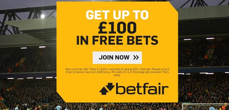 Betfair Betting Bonus