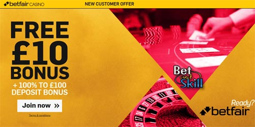 Betfair Casino No Deposit Bonus 10 Completely Free Chips As