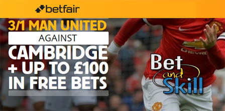 Arsenal 8/1 or Man City 7/1 to win at Betfair (enhanced odds offer)