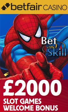 Betfair Casino - £2000 slot bonus
