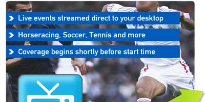 Betfair Livevideo: Bet and watch your favourite sports