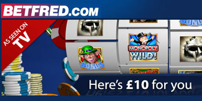Betfred Casino No Deposit Bonus