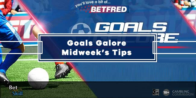 Goals Galore tips and predictions (Midweek's Coupon)