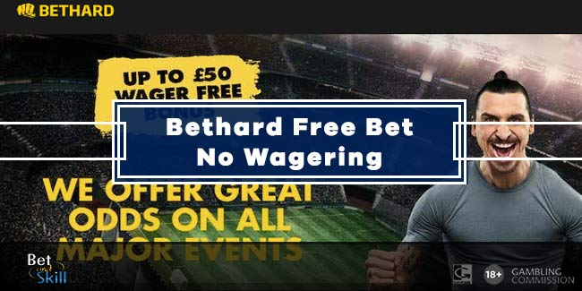 BetHard £50 Free Bet No Wagering Requirements
