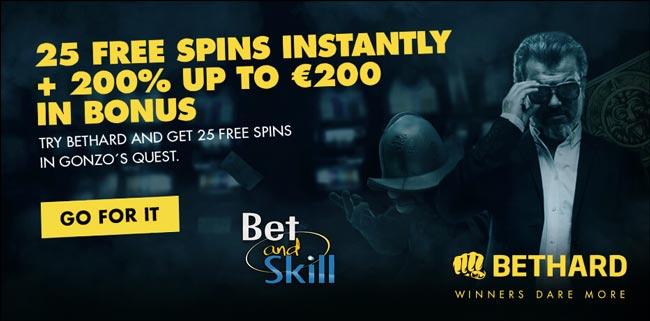 Bethard Casino 25 No Deposit Free Spins Expired Betandskill