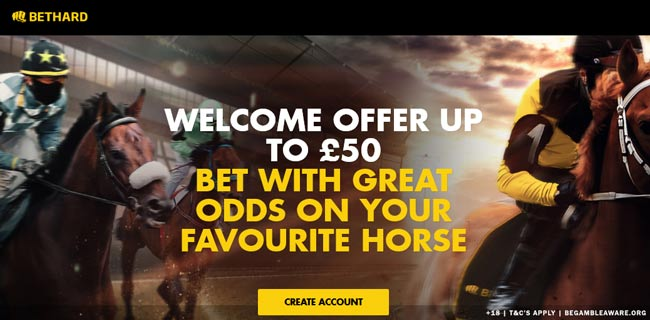 bethard horse racing betting bonus