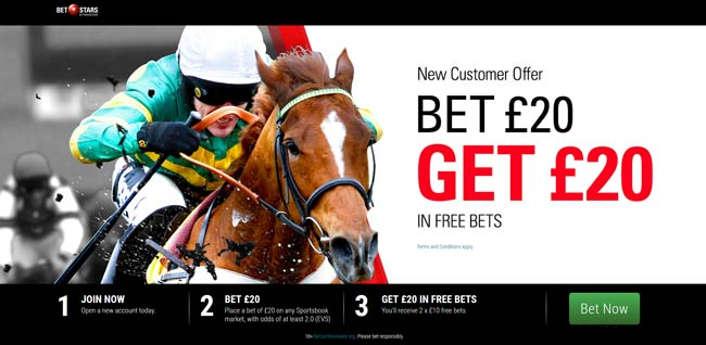 Betstars Horse Racing Free Bets