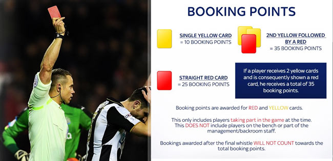 Betting Booking Points