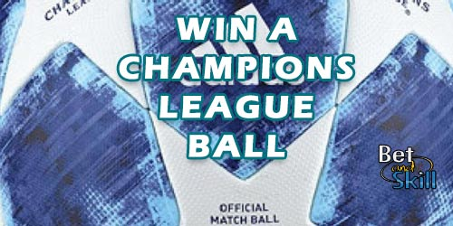 Can You Kick It? Win A Champions League Ball In Our New Competition