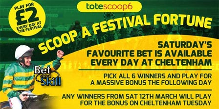 Cheltenham Scoop6 predictions and tips. Copy & win the jackpot!