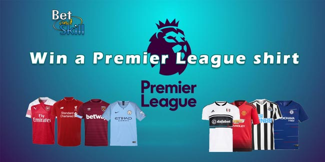 Countdown To Kick Off: Win A Premier League Shirt Of Your Choice!