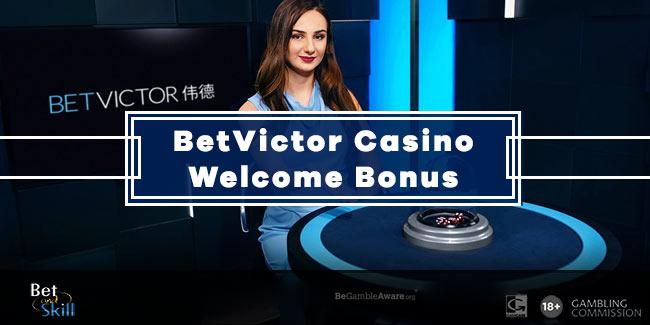 BetVictor Casino: Wager £10 Get £70 Bonus & 50 Free Spins