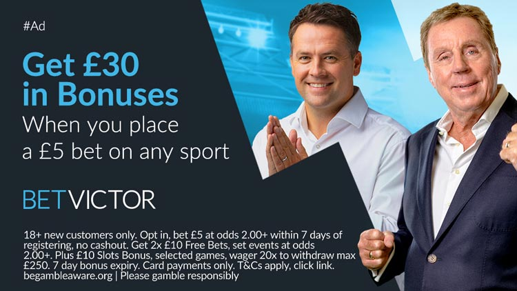 BetVictor Free Bets