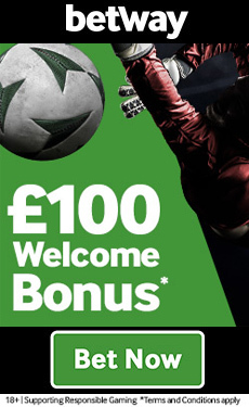 Betway £100 sports betting bonus!