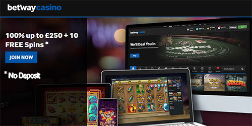 Betway Casino 10 No Deposit Free Spins On Fortunium Slot