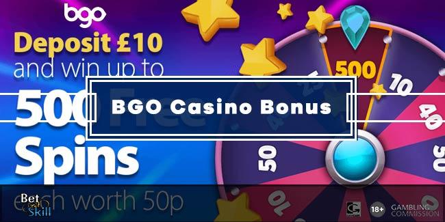Bgo Casino Bonus Win Up To 500 Free Spins From Mega Wheel