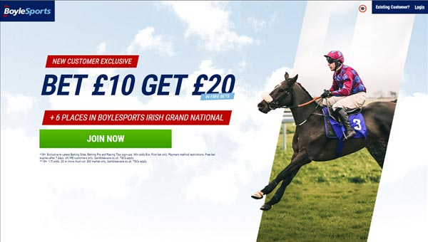 Boylesports Irish Grand National free bets