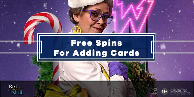 Free Spins For Adding Cards - Win Real Money