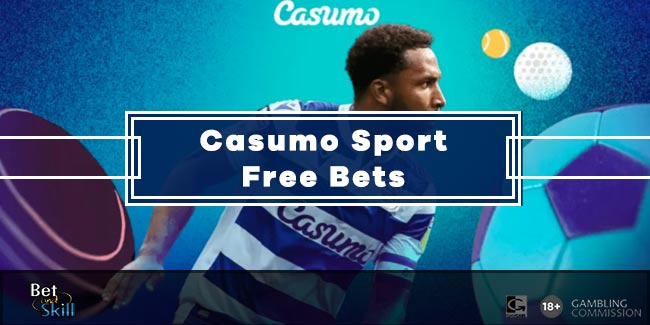 Casumo Sport Bonus: Bet £10 Get £10 Free Bet