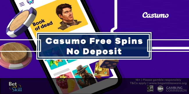 Casumo 20 No Deposit Free Spins + 100% Bonus Up To €300