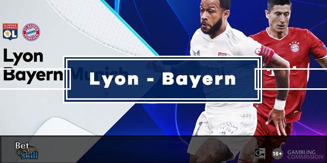 Lyon vs Bayern Munich Betting Tips: Winner, Correct Score & BTTS (Champions League - 19.8.2020)