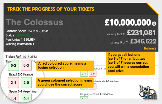 £5,000,000 Colossus Jackpot- how to play