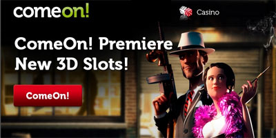 ComeOn Casino launches 25 new 3D games with Sheriff Gaming provider