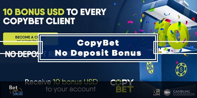 CopyBet $10 No Deposit Bonus - Copy Pro Tipsters' Bets