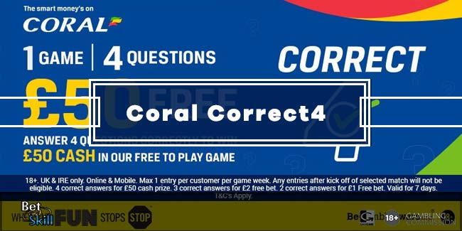 Coral Correct 4 Tips - £50 Up For Grab - Free To Enter