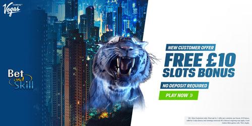 Coral Casino £10 free no deposit bonus! Join here!
