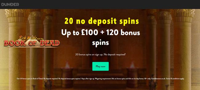 Book Of Dead Casino No Deposit Bonus