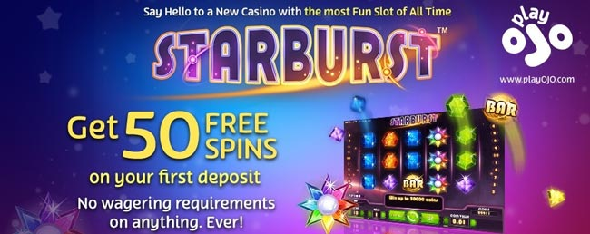 play ojo starburst free spins