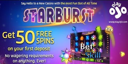 PlayOJO Casino Online - Up to 50 Free Spins Bonus