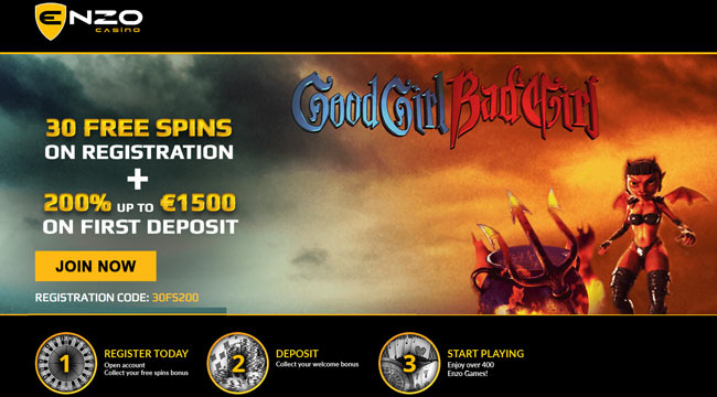 enzo casino no deposit free spins
